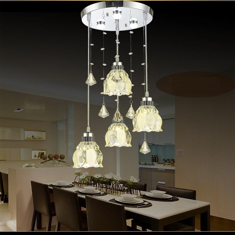 Dutti LED Chandelier Three European-style Restaurant