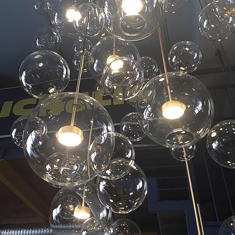 Dutti LED Chandelier minimalist kitchen island Designer