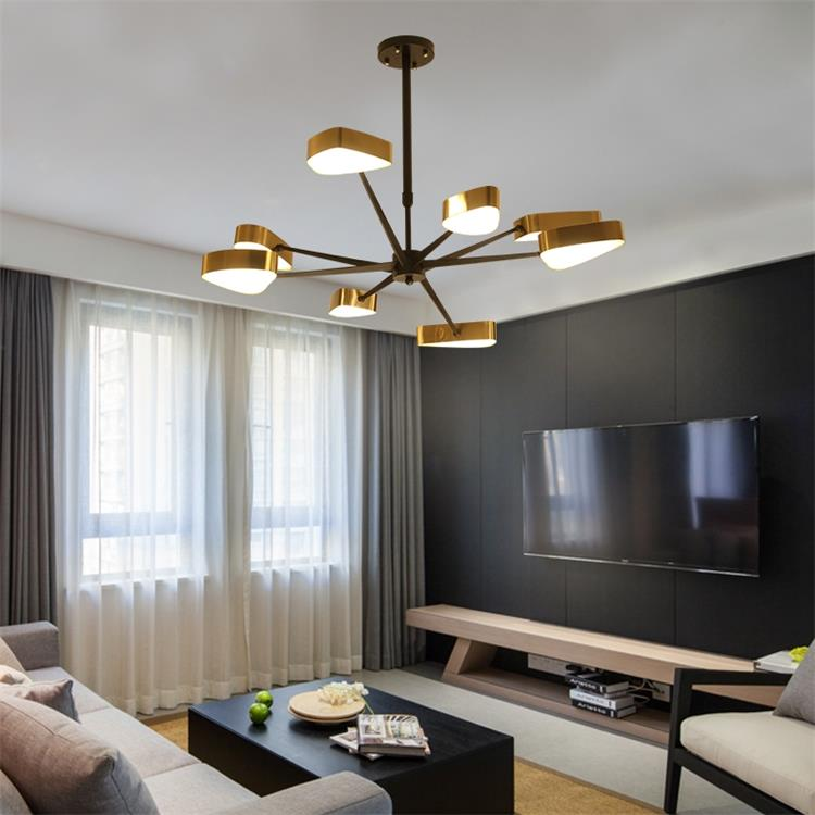 Dutti D0021 Led Contemporary Chandelier Luxury Minimalist