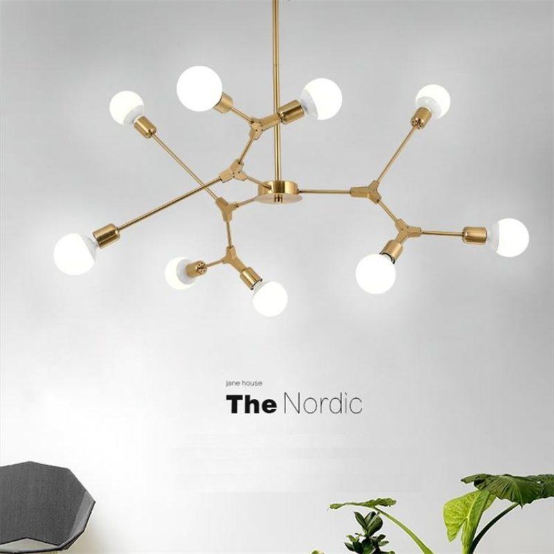 Dutti D0022 Led Pendant Light Magic Bean Creative Living Room Contemporary Lighting Luxury Minimalist Restaurant Designer