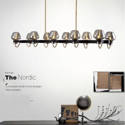 Dutti Led Pendant Light Nordic Living Room Firefly
