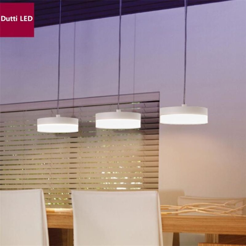 Dutti D0041 Led Pendant Light For Restaurant Living Room Dining Table Simple Modern Personality Creative Nordic Lamps Three Cylinder Base Led Chandelier Dutti Led Chandelier Lighting Fixtures Modern Pendant Chandeliers,What Color Should I Paint My Ceiling