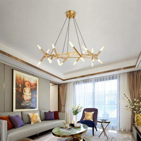 Dutti D48 Nordic LED Chandelier Living Room Modern European Awesome Modern Lighting For Dining Room Decoration