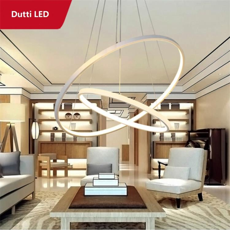 Dutti D0046 Circle Led Chandelier For Living Room