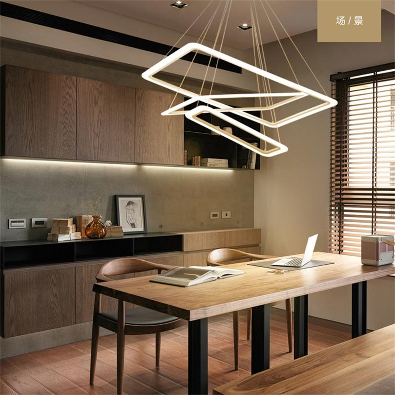 Dutti D0063 Led Pendant Light Post Modern Minimalist Atmosphere Household Living Room Dinning